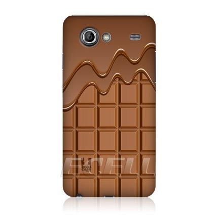 e_cell - Head Case Chocodrip Chocolaty Hard Back Case for Samsung Galaxy S Advance I9070
