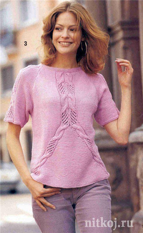 Розовый пуловер – реглан . Обсуждение на LiveInternet - Российский Сервис Онлайн-Дневников