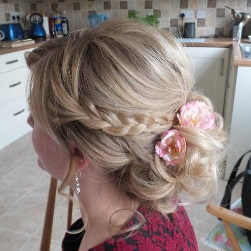 8 Romantic Braided Bun ideas | trends4everyone