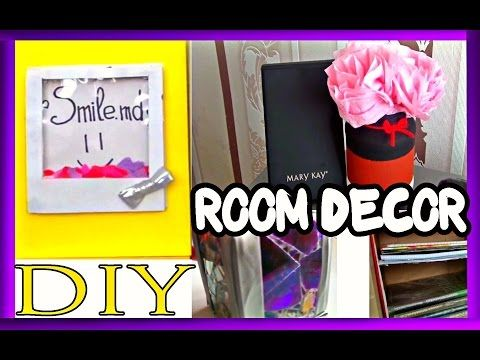 DIY Room Decor || DIY decoratiuni pentru camera! - YouTube