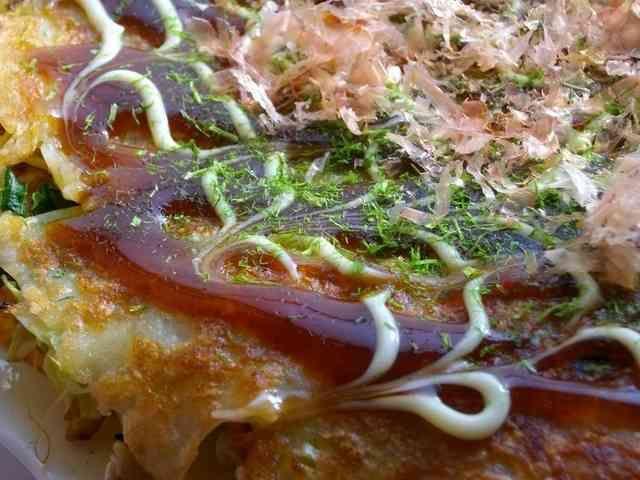 食べてみんちゃぃ広島のお好み焼きの画像