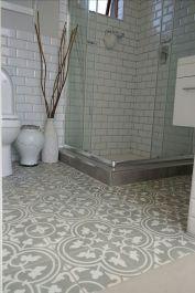 Best Inspire Bathroom Tile Pattern Ideas (19)