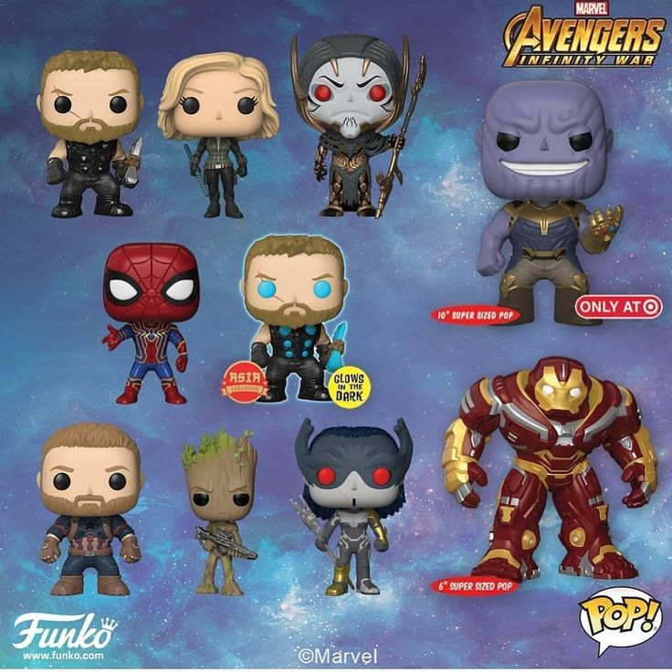 Avengers Infinity War (Funko Pop) . . . credit: @the_geek_power #marvel #avengers #avengersinfinitywar #funkopop #toys #marveltoys #thanos #captainamerica #ironman #thor #hulk #spiderman #marvel #avengers #avengersinfinitywar #funkopop #toys #marveltoys #thanos #captainamerica #ironman #thor #hulk #spiderman #proximamidnight #cullobsidian #corvusglaive #ebonymaw