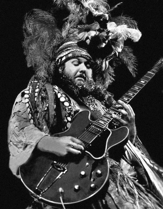 Dr. John the Night Tripper.  The first artist I saw playing live, opening for Ten Tears After in 1972.
