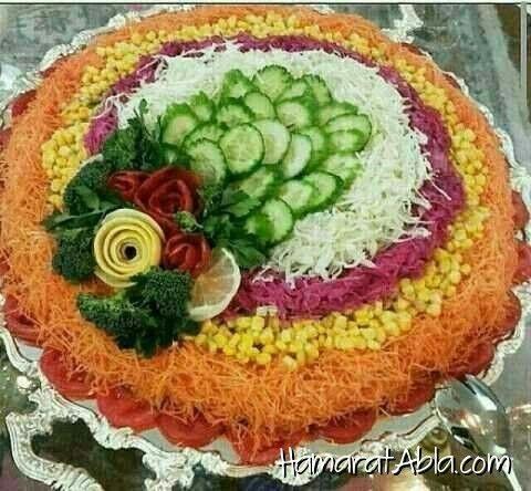 Salate decoration
