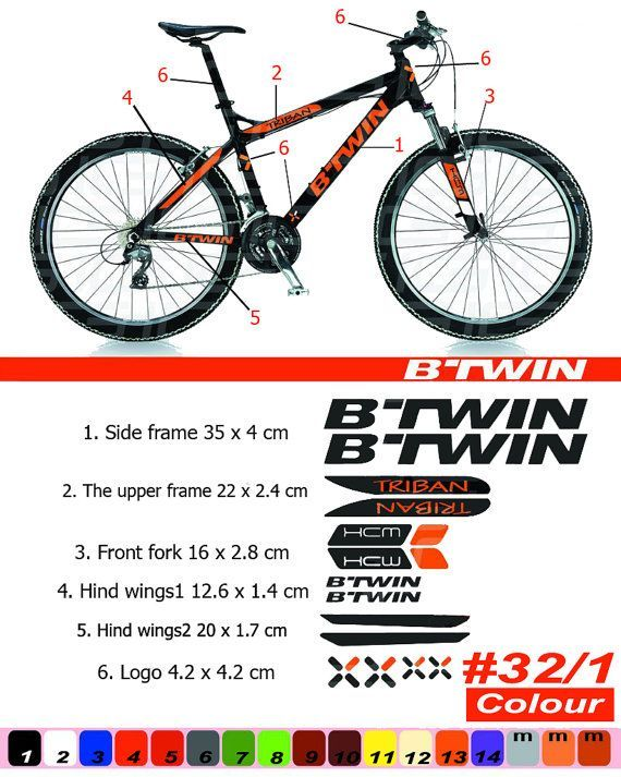TWIN SIX Apparel CYCLES Ride Race Tri MTB BICYCLES BIKE FRAME STICKER DECAL
