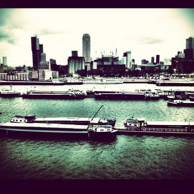 Rotterdam Harbour, view from Creative Factory.