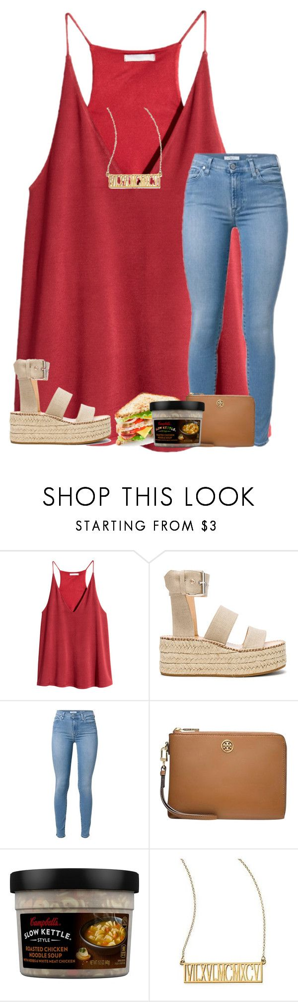"""so long;so worth it"" by livnewell ❤ liked on Polyvore featuring H&M, rag & bone, Tory Burch and Mark & Graham"