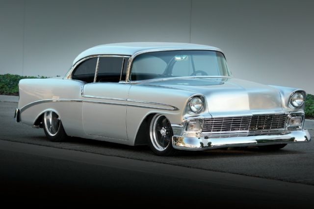 1956 Chevrolet Bel Air Hardtop Front.. Re-pin Brought to you by  #HouseofInsurance in #EugeneOregon for #LowCostInsurance