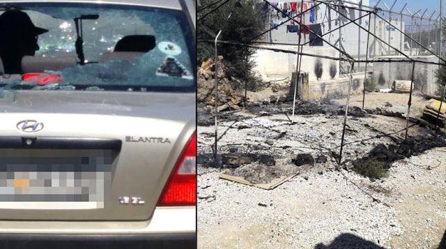 Πιερία: Νέα εξέγερση μεταναστών στη Μόρια - Φωτιές, πετροπ...