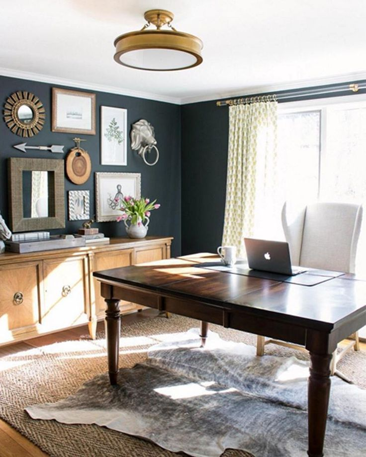 Home Office Color Schemes: 17 Best Images About Home Offices On Pinterest