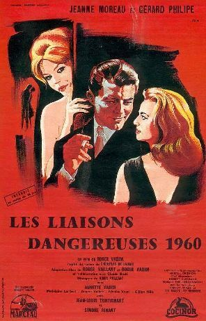 Les Liaisons Dangereuses 1960.  Screen play by Roger Vailland and Claude Brule, based on the novel by Choderlos De Laclos; directed by Roger Vadim -  Tourné à Deauville