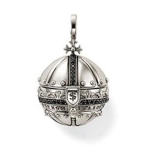 Thomas Sabo Silver Orb Pendant