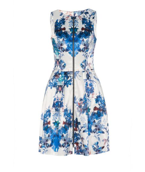 Cue dress great for most body shapes.