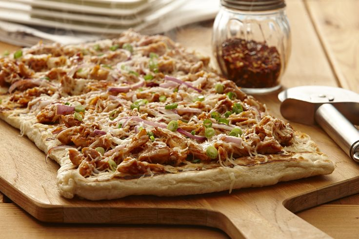 Delight friends and family at mealtime with this fast and easy bbq chicken pizza. A healthy and tasty choice for grilling out.