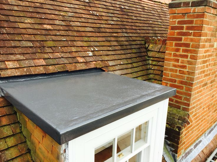 Old lead bay roof replaced for GRP fibreglass
