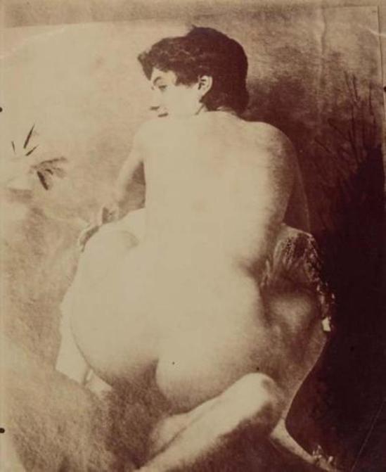 Eugène Atget. Femme, de la série «Paris Pitoresque III», ca. 1921