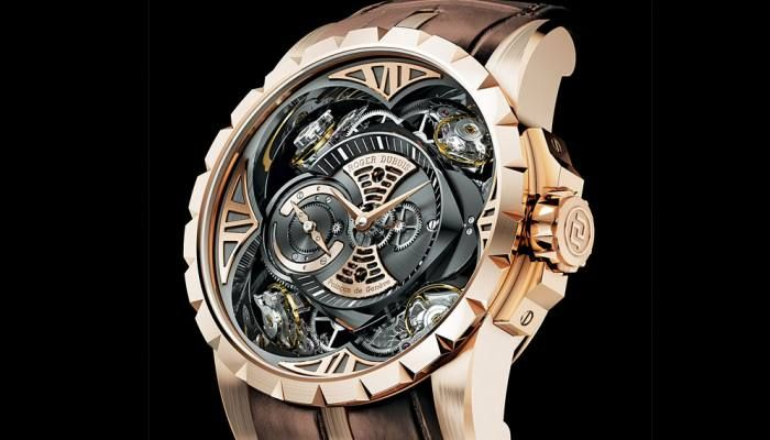 Roger Dubuis Quatuor Double Tourbillon Watch