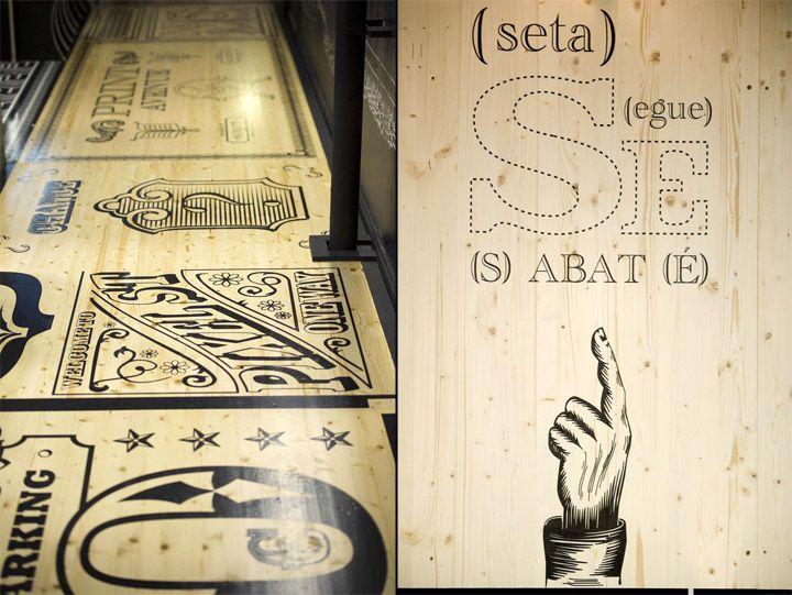 Print Avenue by Egue y Seta & Sabaté, Barcelona