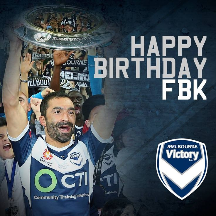 Happy birthday to our reigning Victory medallist, Fahid Ben Khalfallah!