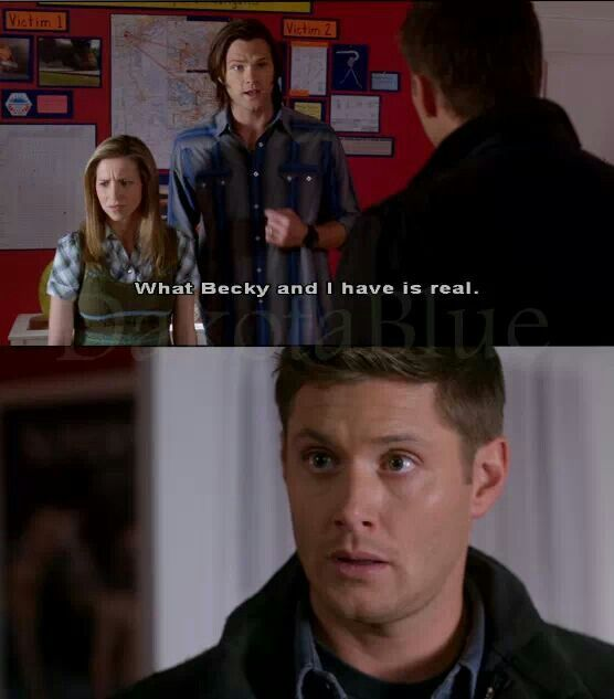 I loved this episode its funny b/c my best friend calls me becky