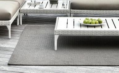 Szőnyeg az erkélyen | Forrás: Dedon via schoener-wohnen.de
