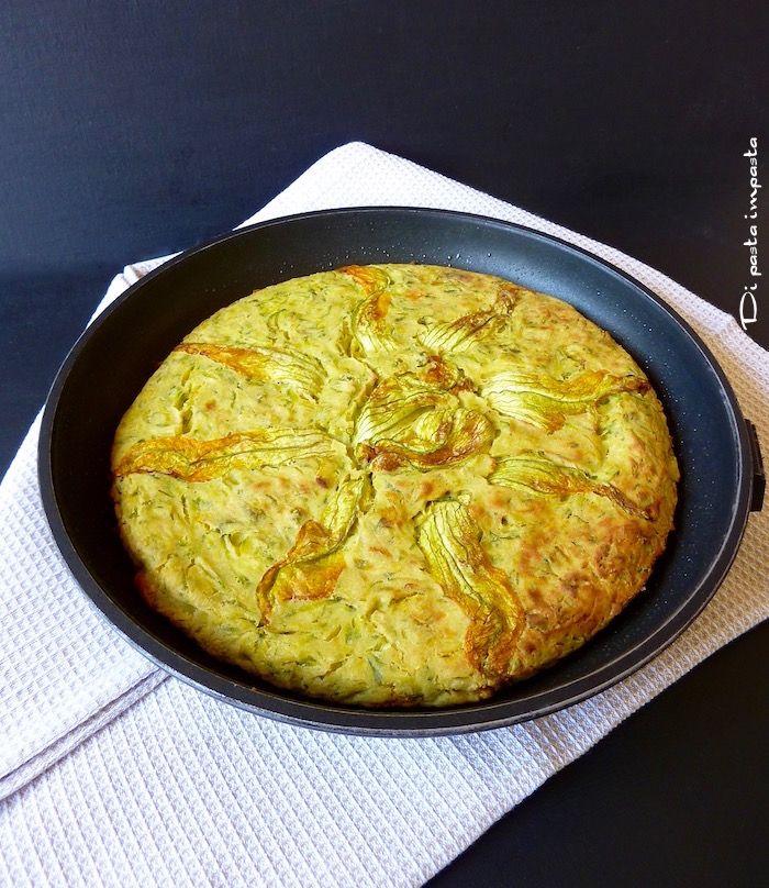 Di pasta impasta: Farinfrittata con zucchine (senza uova)