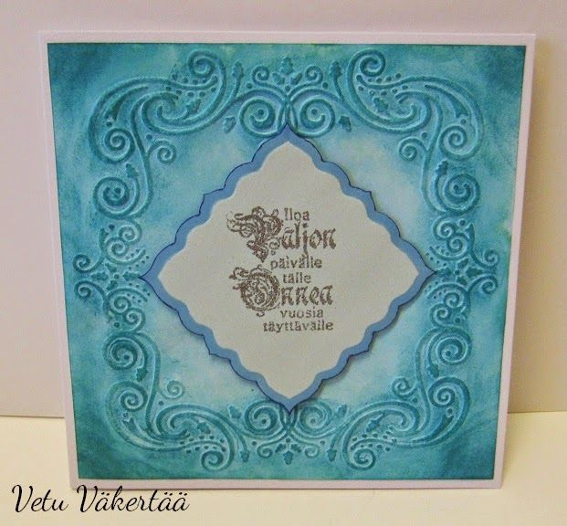 Synttärikortti - Birthday card