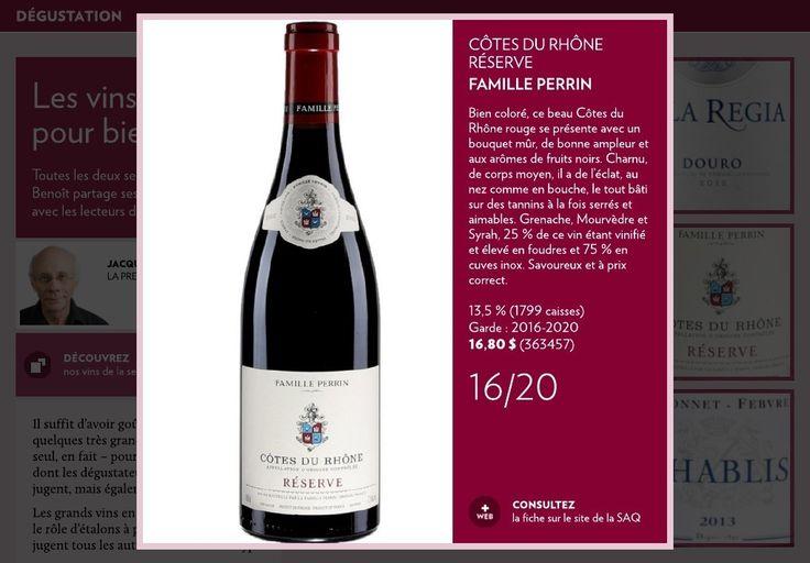 Les vins étalons… pour bien goûter - La Presse+