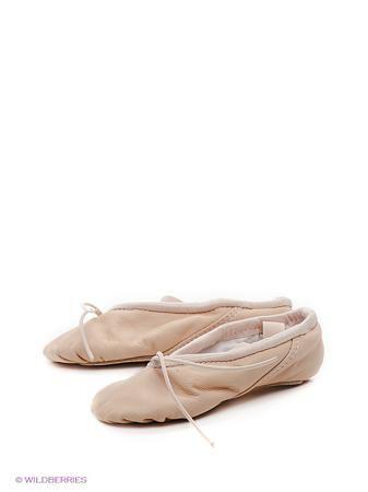 Grishko Балетки  — 1073р. -------------------------------------- Мягкая кожаная балетная обувь с V-образным вырезом, с минимальной закрытостью союзки, сплошная кожаная подошва, эластичный шнурок, боковые резинки. Вся продукция фирмы производится в России.
