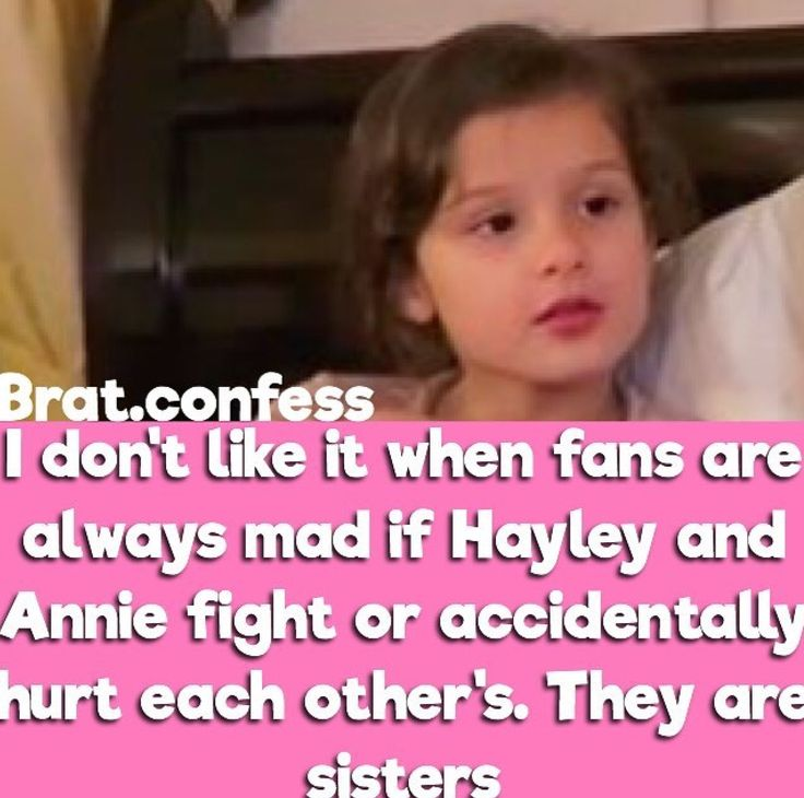 Ok I'm sorry one again bad grammar... They hurt each other's. WHAT DOES THAT MEAN?! I still love Bratayley though....