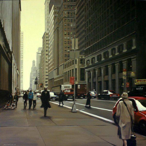 Oil Painting By Daniel Uytterhaeghe