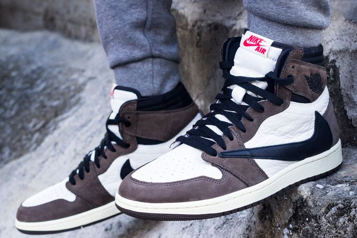 2f76e572e1fe15 Here s an On-Foot Look at Travis Scott s Air Jordan 1