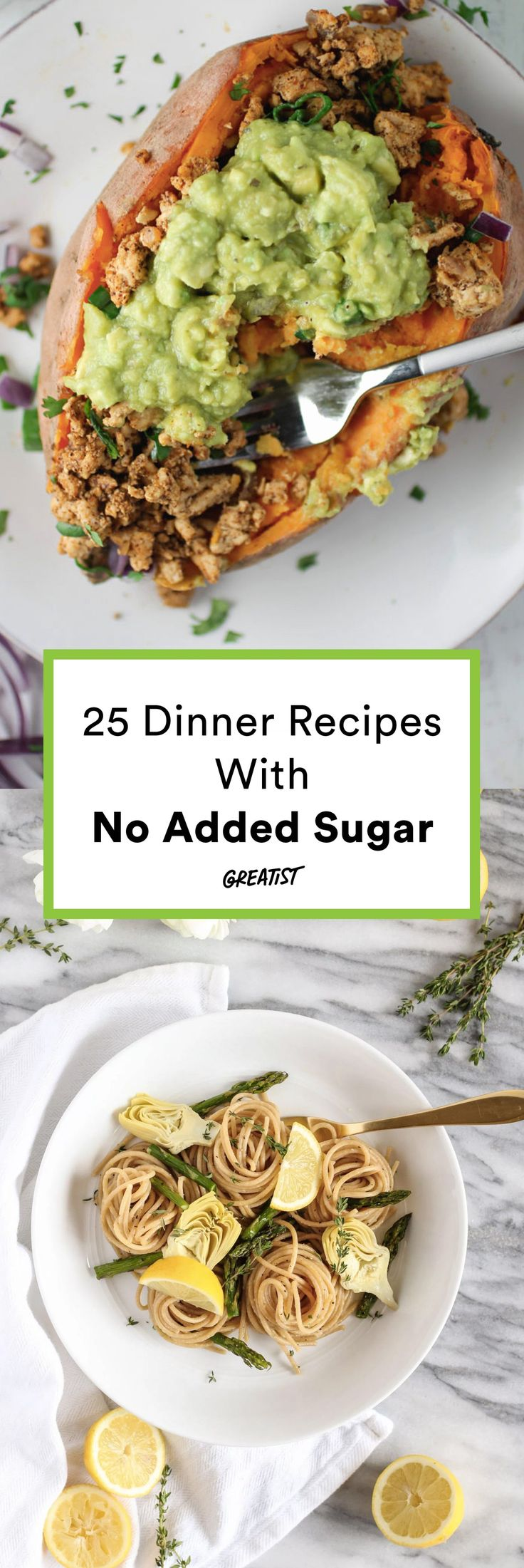 No ketchup, no honey, no nothin'. #greatist https://greatist.com/eat/sugar-free-dinner-recipes