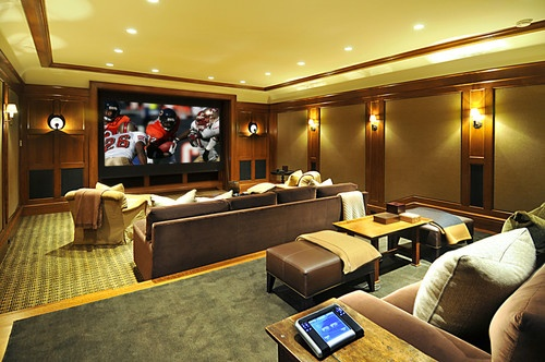 Custom Home Theater : Brentwood Custom Home Theater  HOME  Pinterest