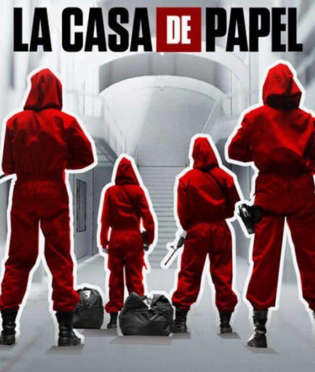 مشاهدة مسلسل La casa de papel موسم 1 كامل