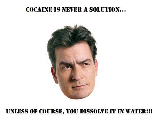 Charlie Sheen's chemistry lesson