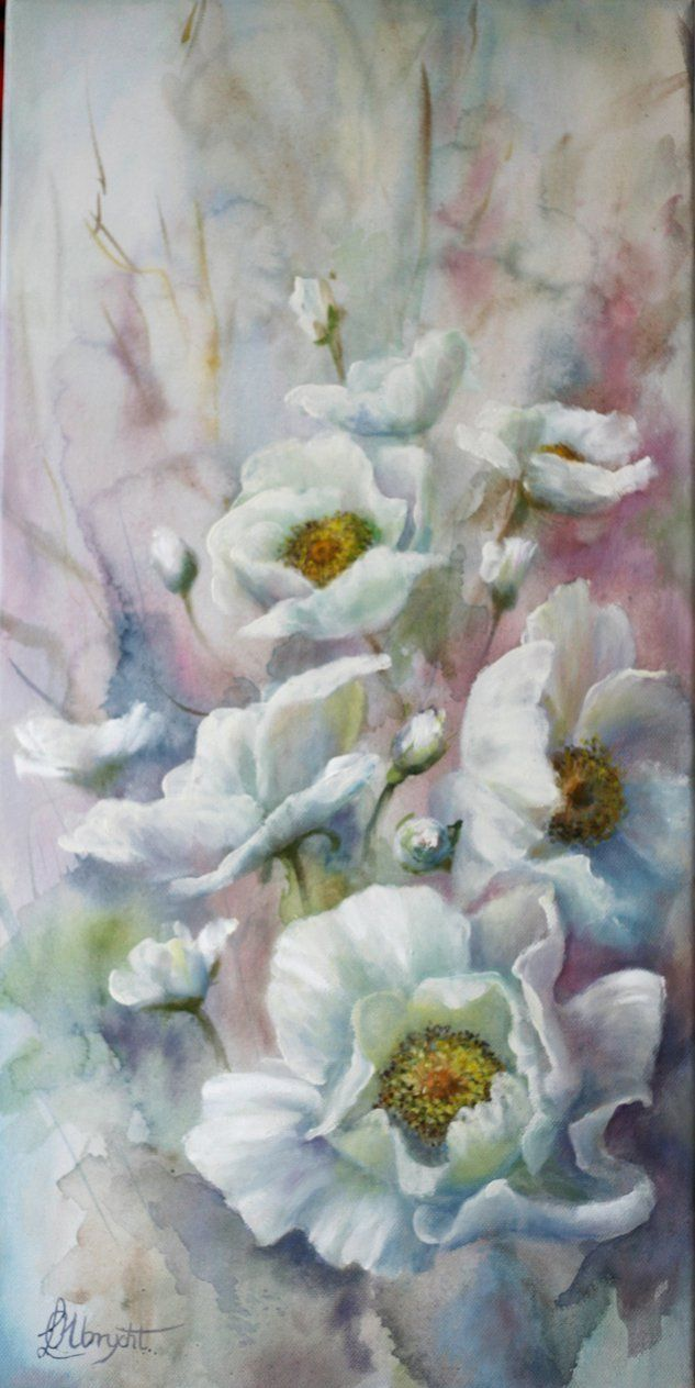 Wild Roses by Lidia Olbrycht