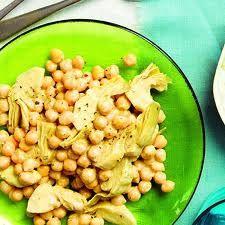 Artichoke Chickpea Salad recipe