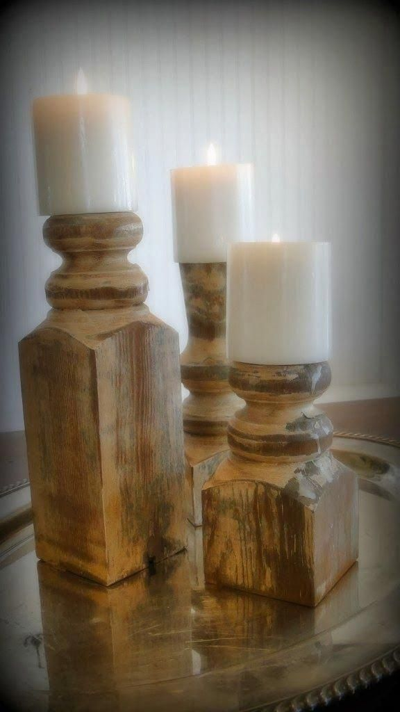 65 Genius Gift Ideas To Make At Home Post Candle Holders