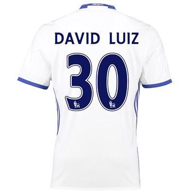 Chelsea Third Shirt 16-17 with David Luiz 30 printing: Chelsea Third Shirt 16-17 The Chelsea… #ChelseaShop #ChelseaStore #ChelseaFC #Chelsea