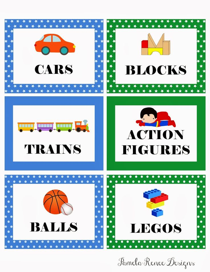 Boy Toys Template : Best toy bin labels ideas on pinterest