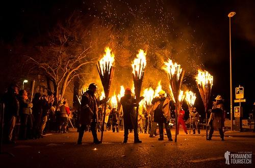 liestal fire parade -