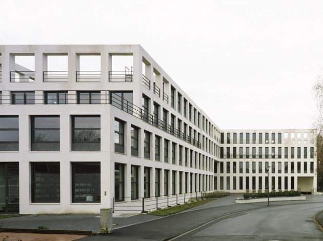 Max Dudler Architekt - Hochschulrektorenkonferenz und Studienstiftung des Deutschen Volkes Bonn