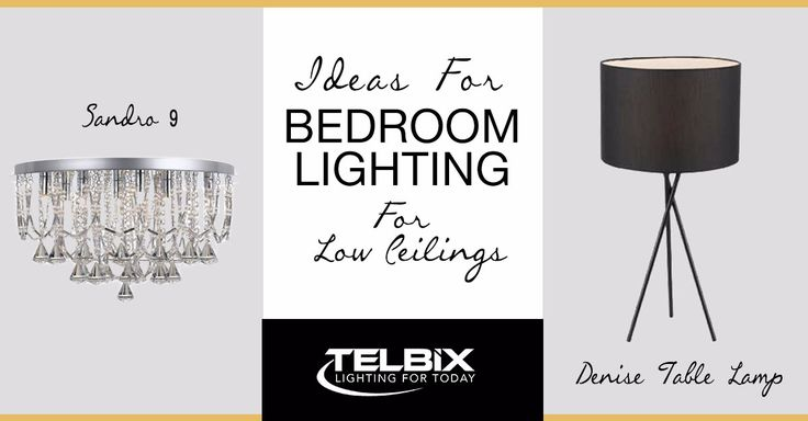 Grab some great ideas for bedroom lighting!!  http://www.telbix.com/2017/01/27/the-ultimate-bedroom-lighting-design-ideas-for-rooms-with-low-ceilings/  #bedroomlighting #lighting #telbix #telbixlighting
