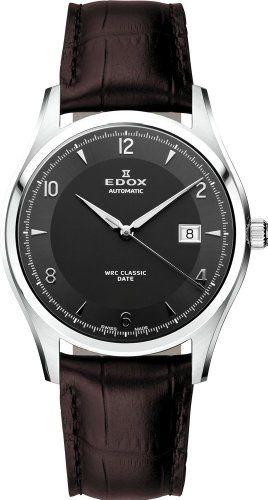 Edox WRC Classic Date Automatik Herrenuhr 80086 3 GIN - http://uhr.haus/edox/edox-wrc-classic-date-automatik-herrenuhr-80086-3