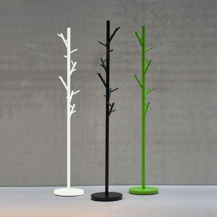Jan Kurtz TREE Kleiderständer Garderobenständer schwarz grün weiß 28 x 170 x 28 Diele, Flur & Garderobe Kleiderständer / Garderobenständer