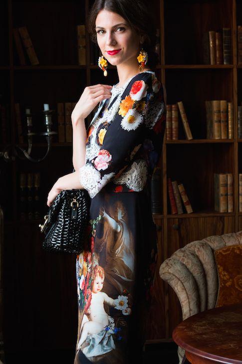 #DolceAndGabbana #Sicilian #Baroque #dress