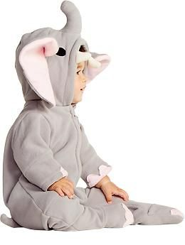 Elephant Costumes for Baby  http://oldnavy.gap.com/browse/product.do?cid=1017263&vid=1&pid=149512002