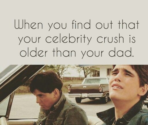 Sad but true...in sorry I will never be with you Ralph macchio